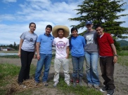 New Earth Works - Service Day at Tierra Nuevas' Farm. Class of 2012.