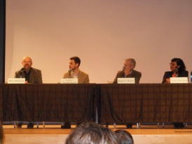 Panel, including former NPH Bolivia volunteer, Tio Larkin.