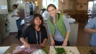 Serving together @Jubilee House. (Luisa and Carrie - Guate).
