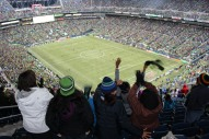 Fun at the Sounders Game!